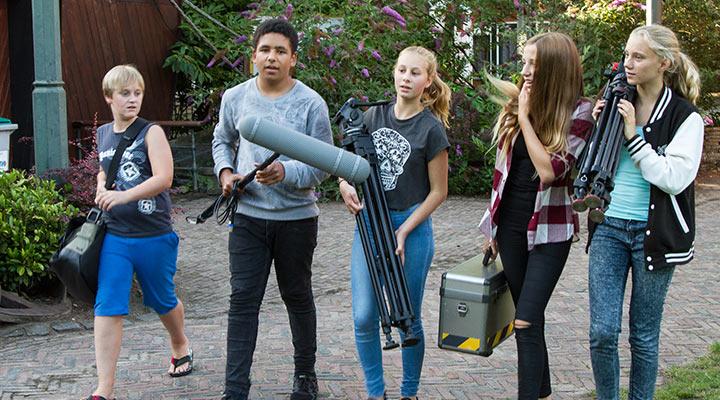 Xapp Cinekamp - filmkamp camera acteren editen zomerkamp