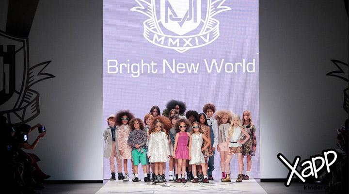 Xapp kindercasting kindermodellen op fashionshow