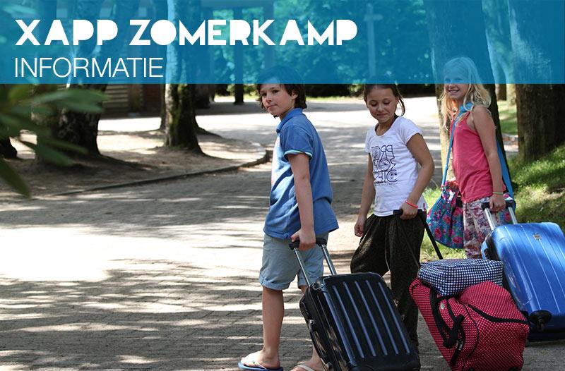 Xapp zomerkampen algemene informatie